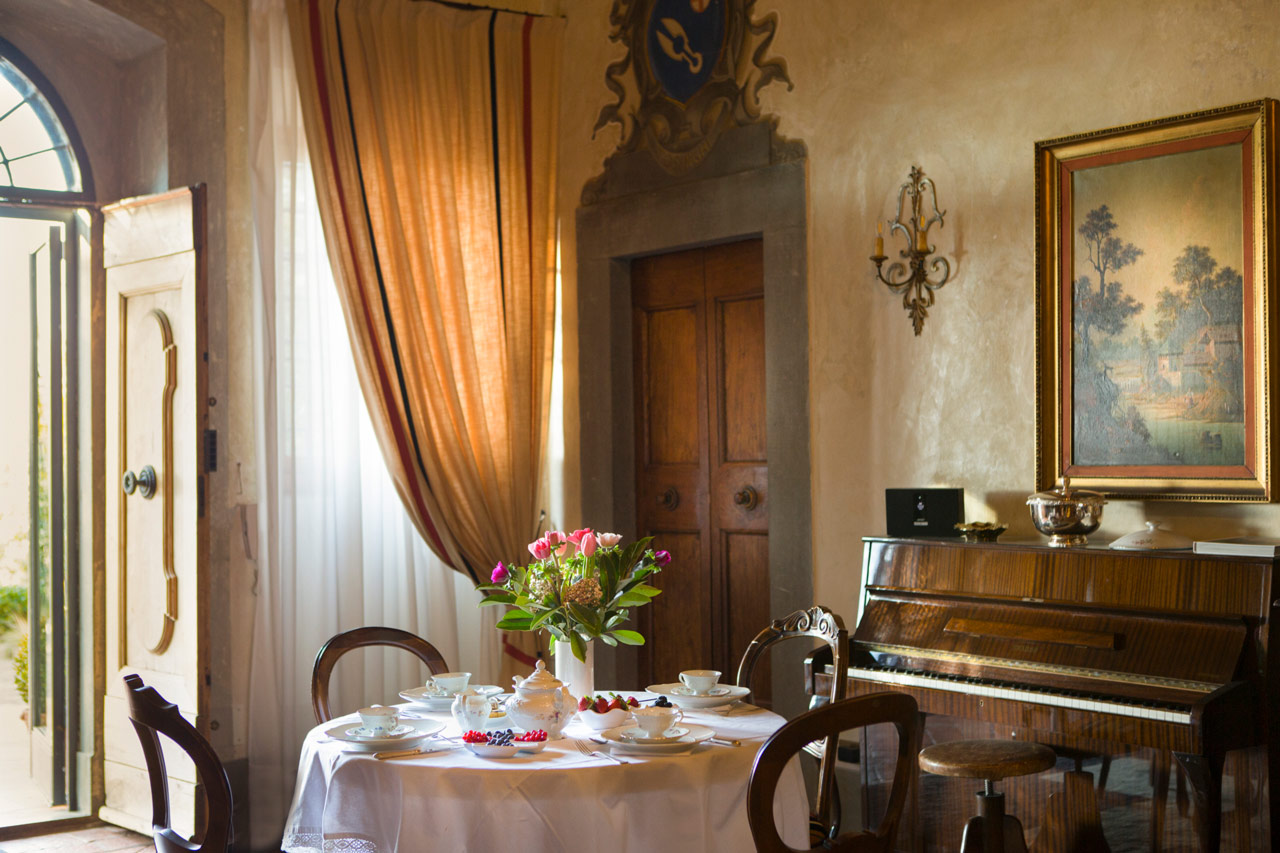 Interior and wine photography